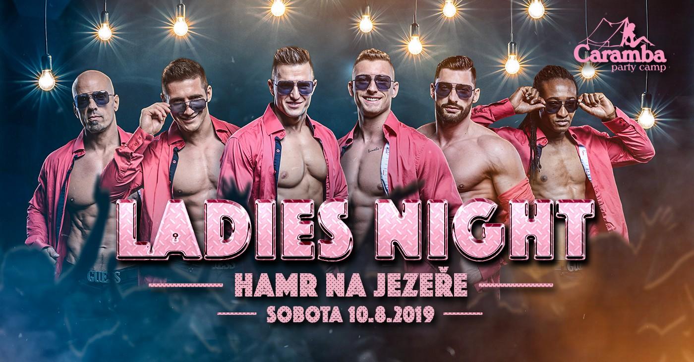 ladies night party camp caramba srpen 2019 Ladies Night