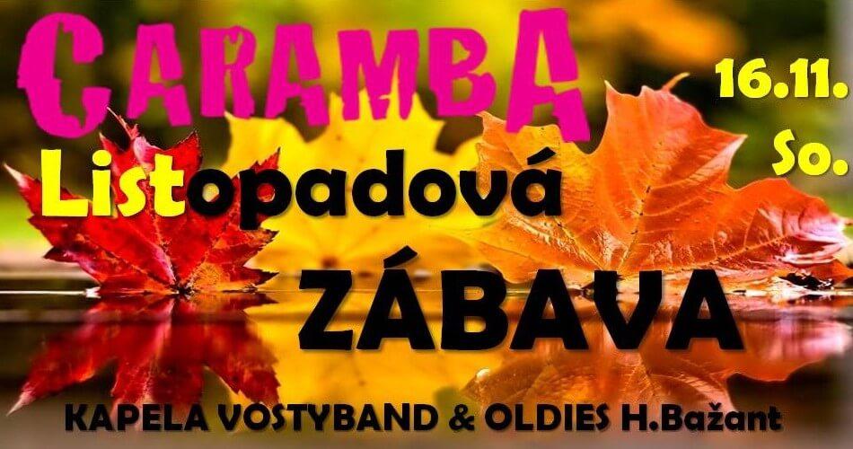 zabava listopad 2019 party camp caramba Listopadová zábava