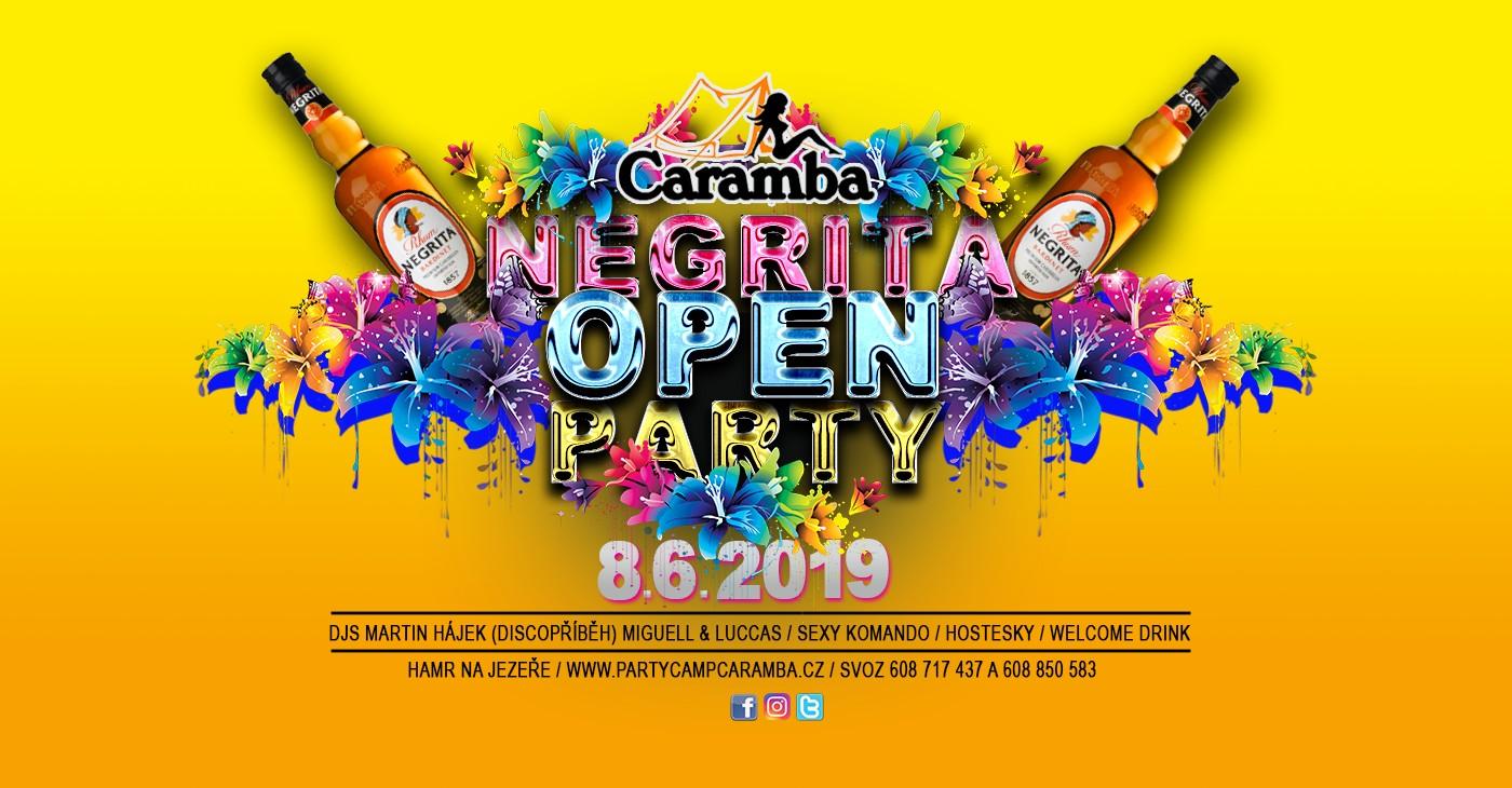 CARAMBA OPEN 2019 LETNÍ OPEN PARTY 2019 s VIP hostem